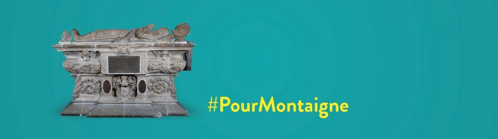 Affiche #PourMontaigne pour Twitter