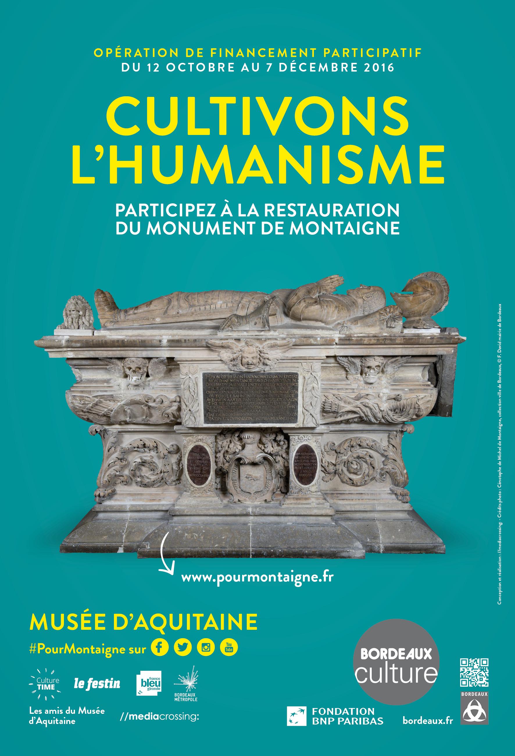 Affiche #PourMontaigne
